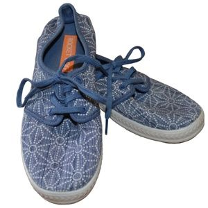 Rocket Dog Patterned Laceup Sneakers | Size 6